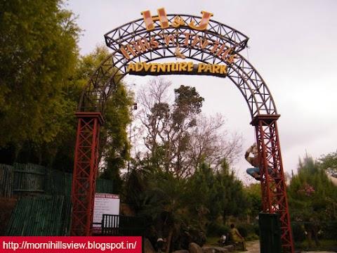 Adventure Park, Valley of Tikkar Taal, Morni Hills, Timings, Entry Fees Of Adventure Park
