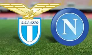 Lazio VS Napoli saat ini lazio berada diurutan ke 3 klasemen liga itali