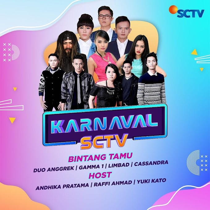 Gebyar Karnaval SCTV di Jepara Bertaburkan Bintang