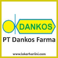 Lowongan Kerja PT Dankos Farma Terbaru 2021