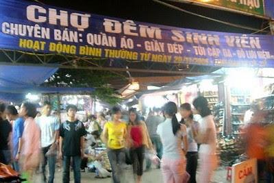 Chợ đêm sinh viên Dịch Vọng