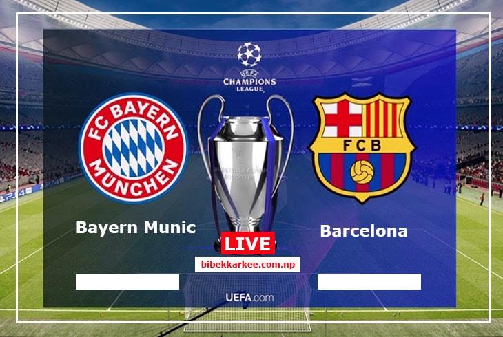 Barcelona Vs Bayern Munich | Champions League Quarter-Final |  Watch Live