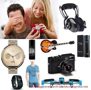 Happy New Year 2017 gifts Ideas for men boyfriend Husband