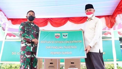 Bantuan Panglima TNI Didistribusikan ke Daerah untuk Tekan BOR di Padang