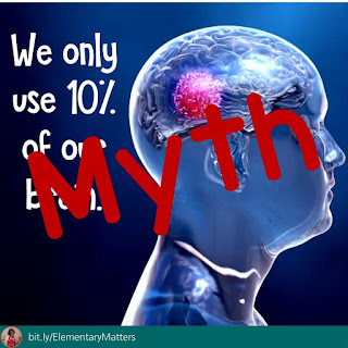 We only use 10% of our brain: that's a myth!