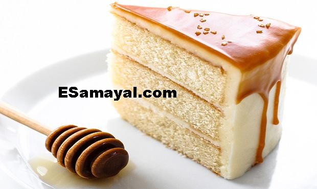 ஸ்வீட் பட்டர் கேக் ரெசிபி செய்வது | Sweet Butter Cake Recipe !