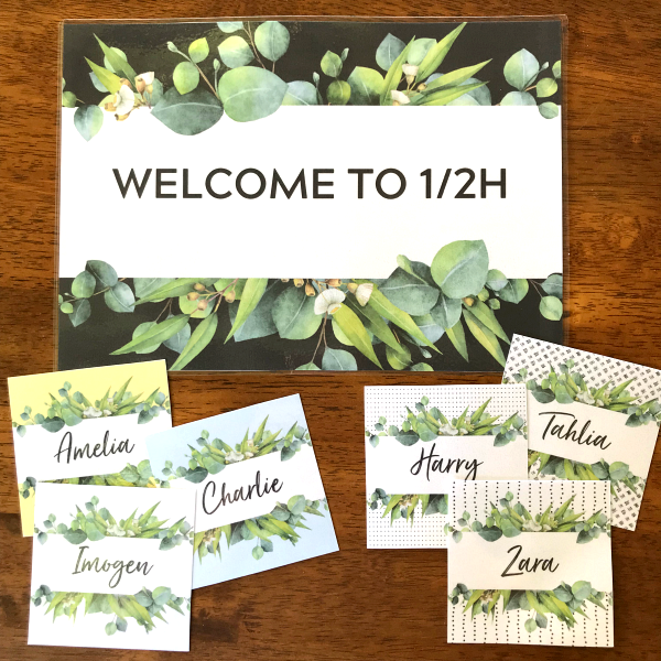 Eucalyptus Classroom Labels and Signs | you clever monkey