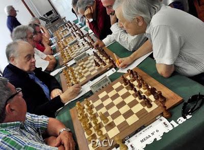 Campeonato de España de Ajedrez de Veteranos 2015, 8ª Ronda