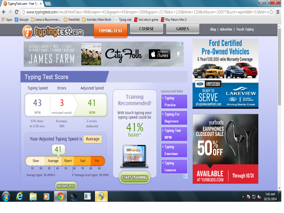 Summary -> Free Online Touch Typing Speed Test Wpm Words Per Minute