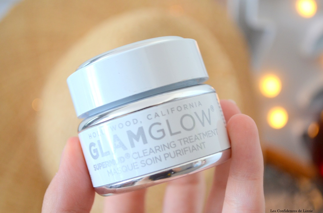 glamglow - masque de beaute - resserer pores - peau purifiee - peau lissee - imperfections - points noirs