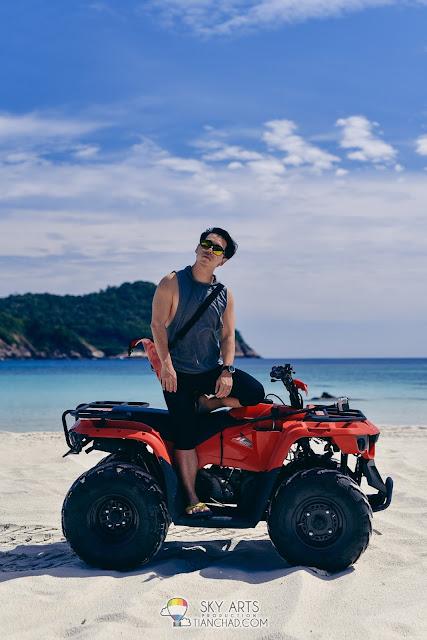 ATV Adventure in Pulau Redang from Taaras Beach and Spa Resort