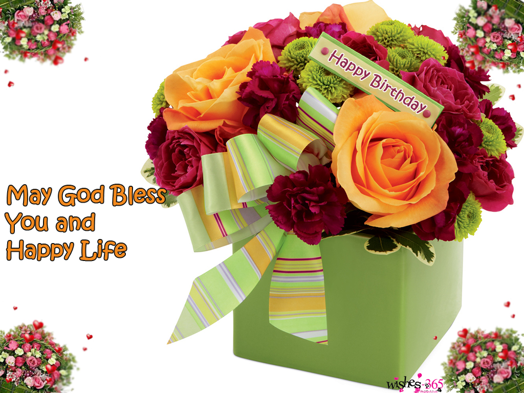 Poetry And Worldwide Wishes: Happy Birthday Images May God