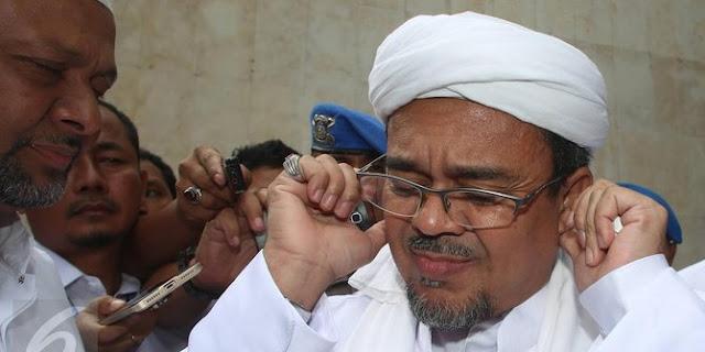 Melacak keberadaan Habib Rizieq