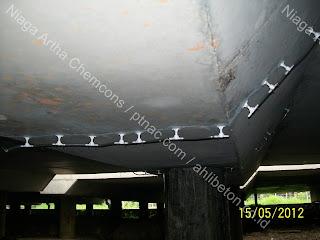 perbaikan beton pecah