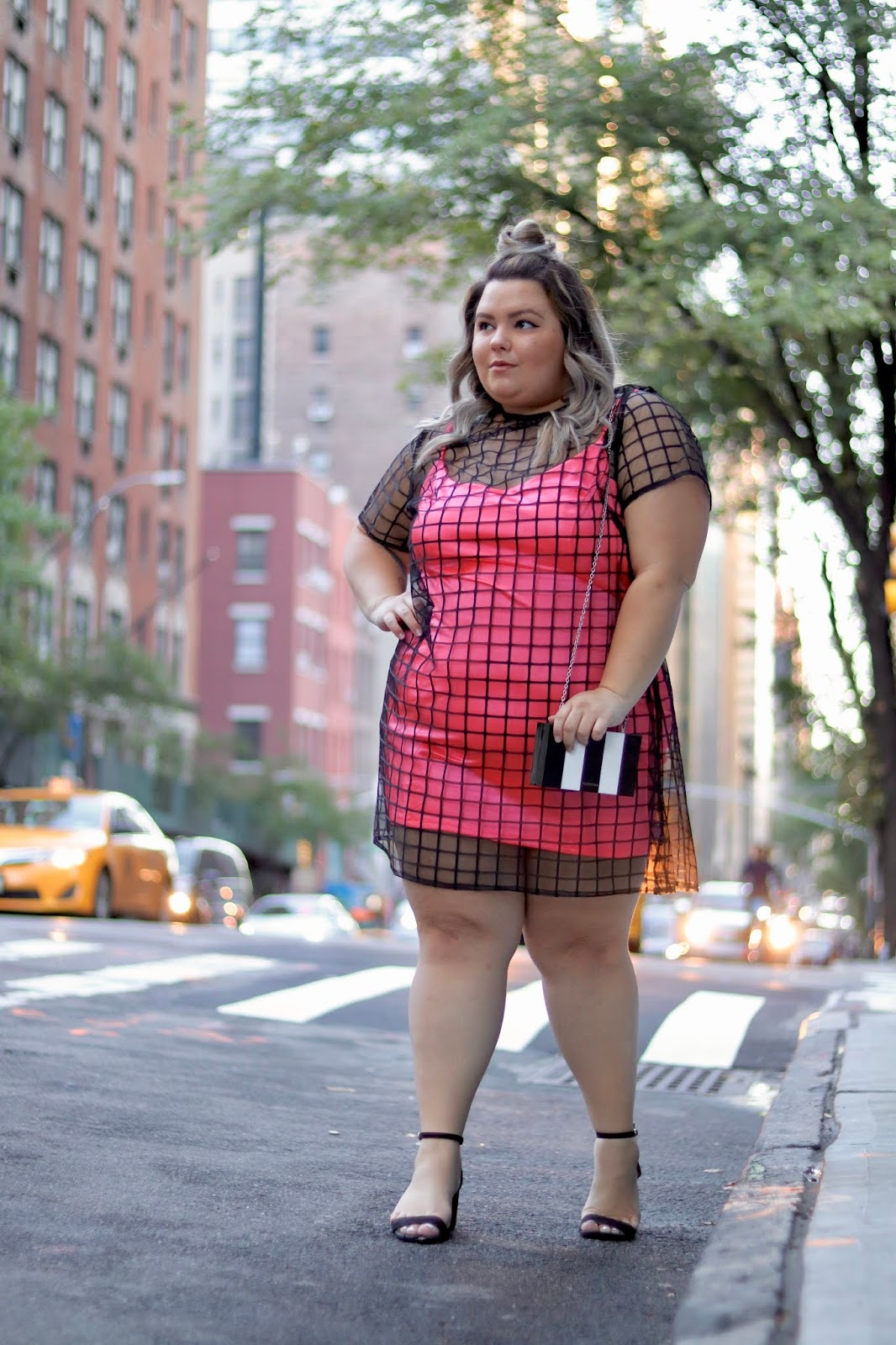 Chicago Plus Size Petite Fashion Blogger, influencer, YouTuber, and model Natalie Craig, of Natalie in the City, shared what she wore to New York Fashion Week (NYFW) and theCURVYcon 2019. fat fashion week full figured ASOS Curve fashion nova curve Ashley Nell Tipton