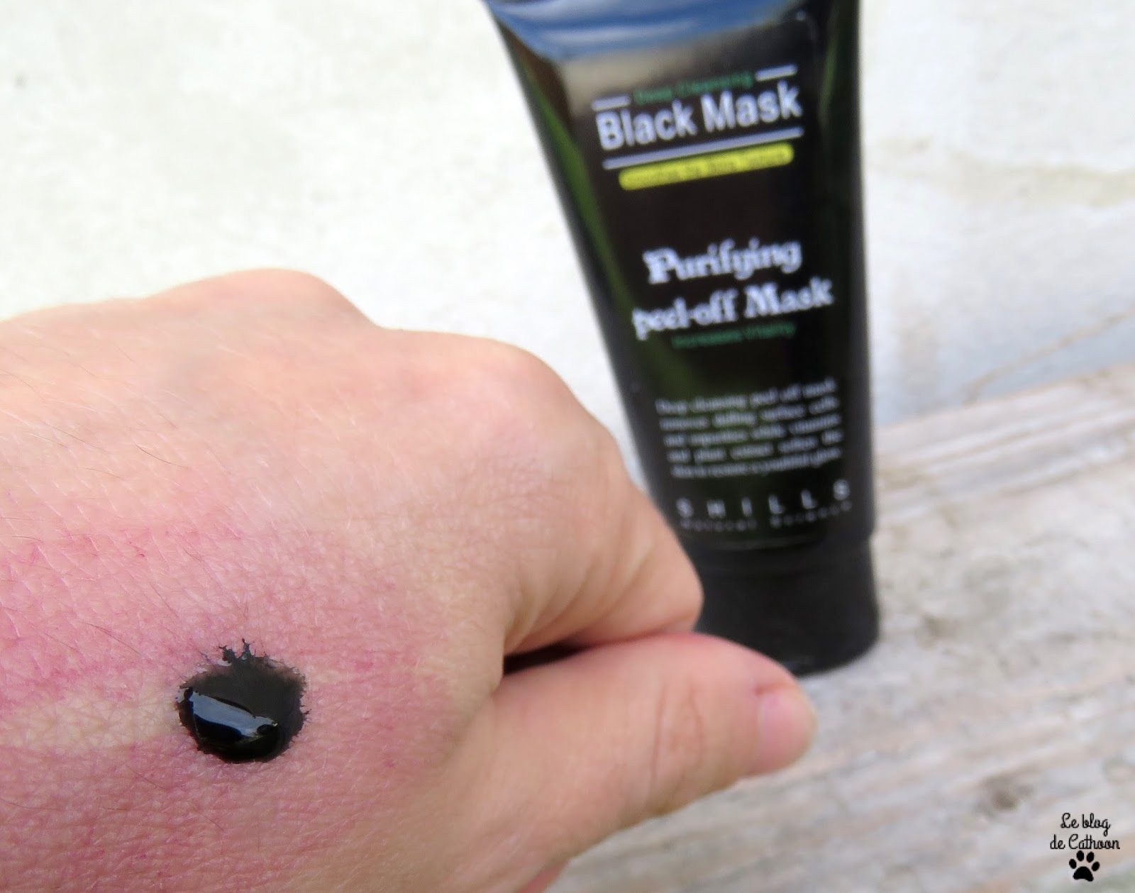 Black Mask Peel Off