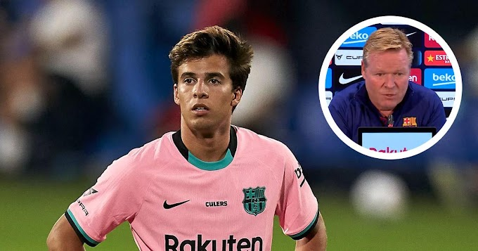 Koeman reveals Riqui Puig registered to Barca B was the decision of the club