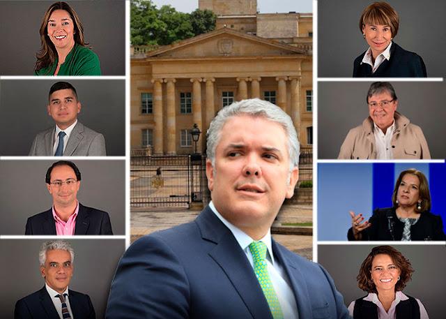 El gabinete ministerial: Duquistas vs Uribistas