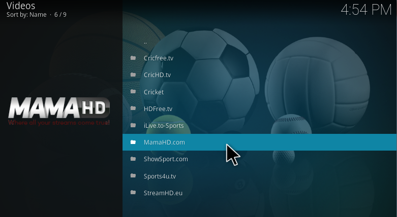 or use sports tv to get exactly live streaming link of epl matches that you want with many best sports tv are available in there as mamahd tv streamhd