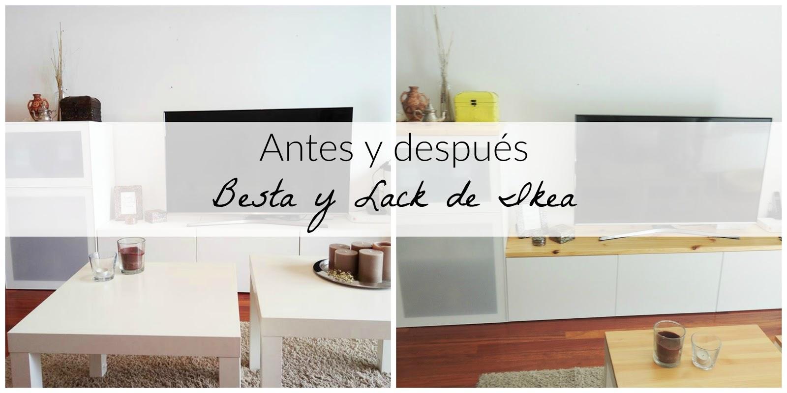 Como personalizar las series Besta y Lack de Ikea - Blanco y de madera