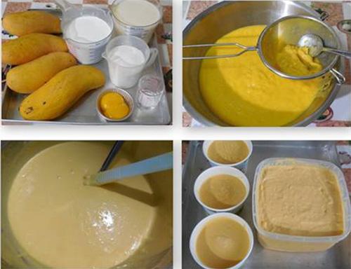 สูตรไอศกรีมมะม่วงโฮมเมด
