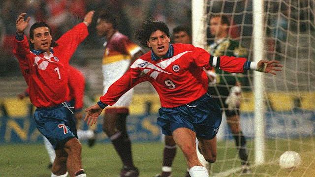 Chile y Venezuela en Clasificatorias a Francia 1998, 29 de abril de 1997
