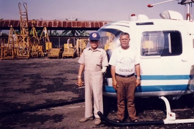 Mengenal Kehebatan Yum Soemarsono, Sang Pilot Heli Bertangan Satu, Luar Biasa.!!
