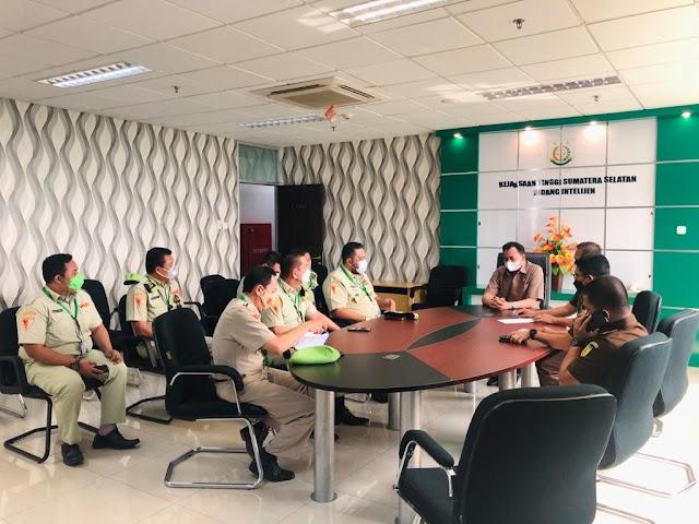Terima Audiensi Pemuda Panca Marga Sumsel Menggelar Audiensi Kejati Provinsi Sumsel