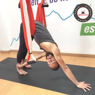 aeropilates, aero pilates oficial, aero pilates institute, pilates aereo, aerial pilates, pilates, yoga, fitness, ejercicio, aero yoga, air yoga, formacion, cursos, trapeze, swing, columpio