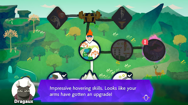 Ring Fit Adventure Dragaux impressive hovering skills Bridge of Insight World 26 Extra Fitness mode