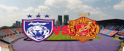 Live Streaming JDT FC vs Kelantan Piala Malaysia 25 Ogos 2018