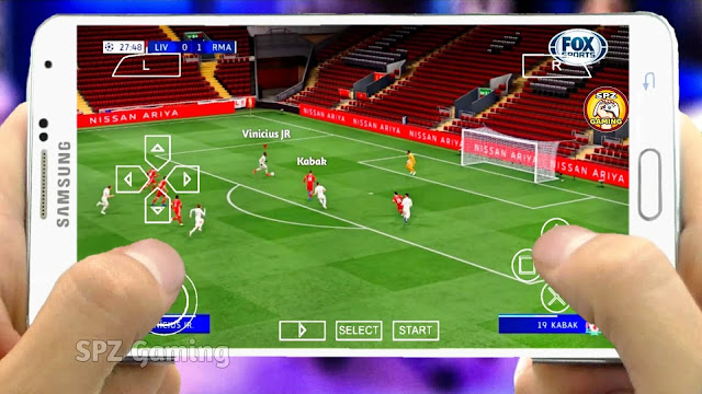 PES 2021 PPSSPP Android Offline 600MB Camera PS5 Best Graphics Real Faces Full Transfers
