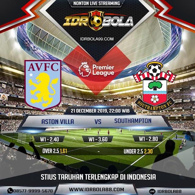 IDRBOLA - Prediksi Bola Aston Villa vs Southampton 21 Desember 2019