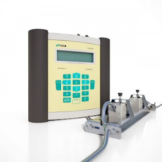 portable ultrasonic flow meter Flexim