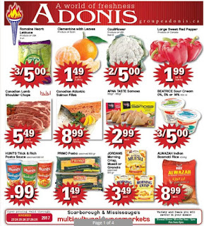 Marche adonis flyer this week November 23 - 29 , 2017