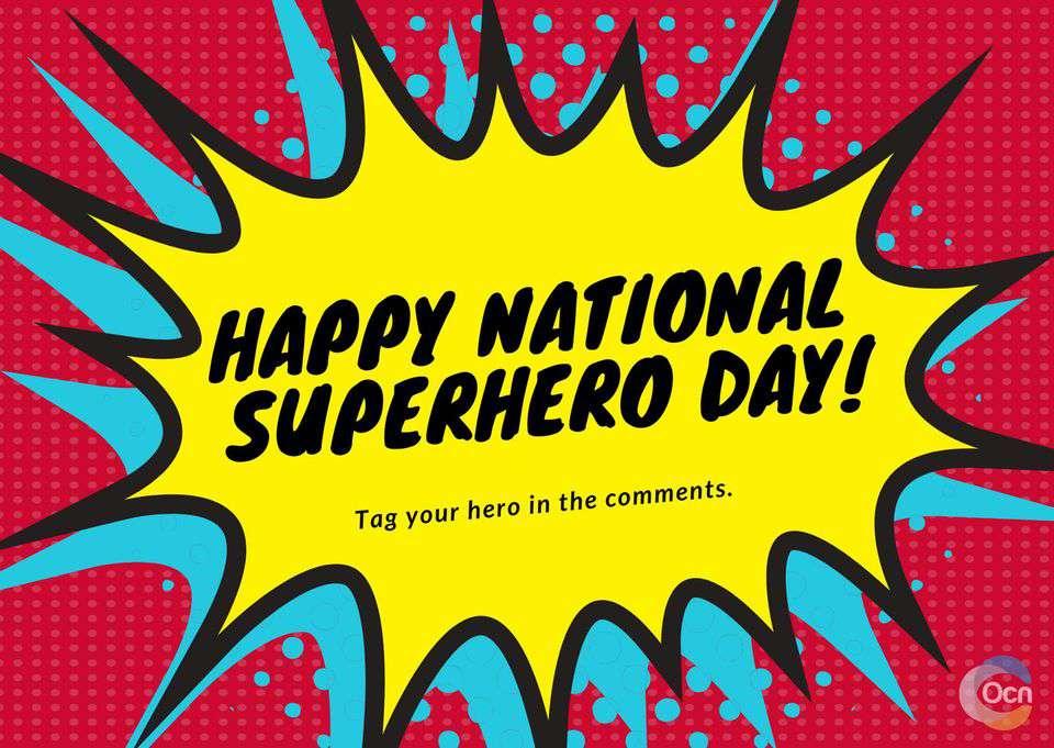 National Superhero Day Wishes Pics