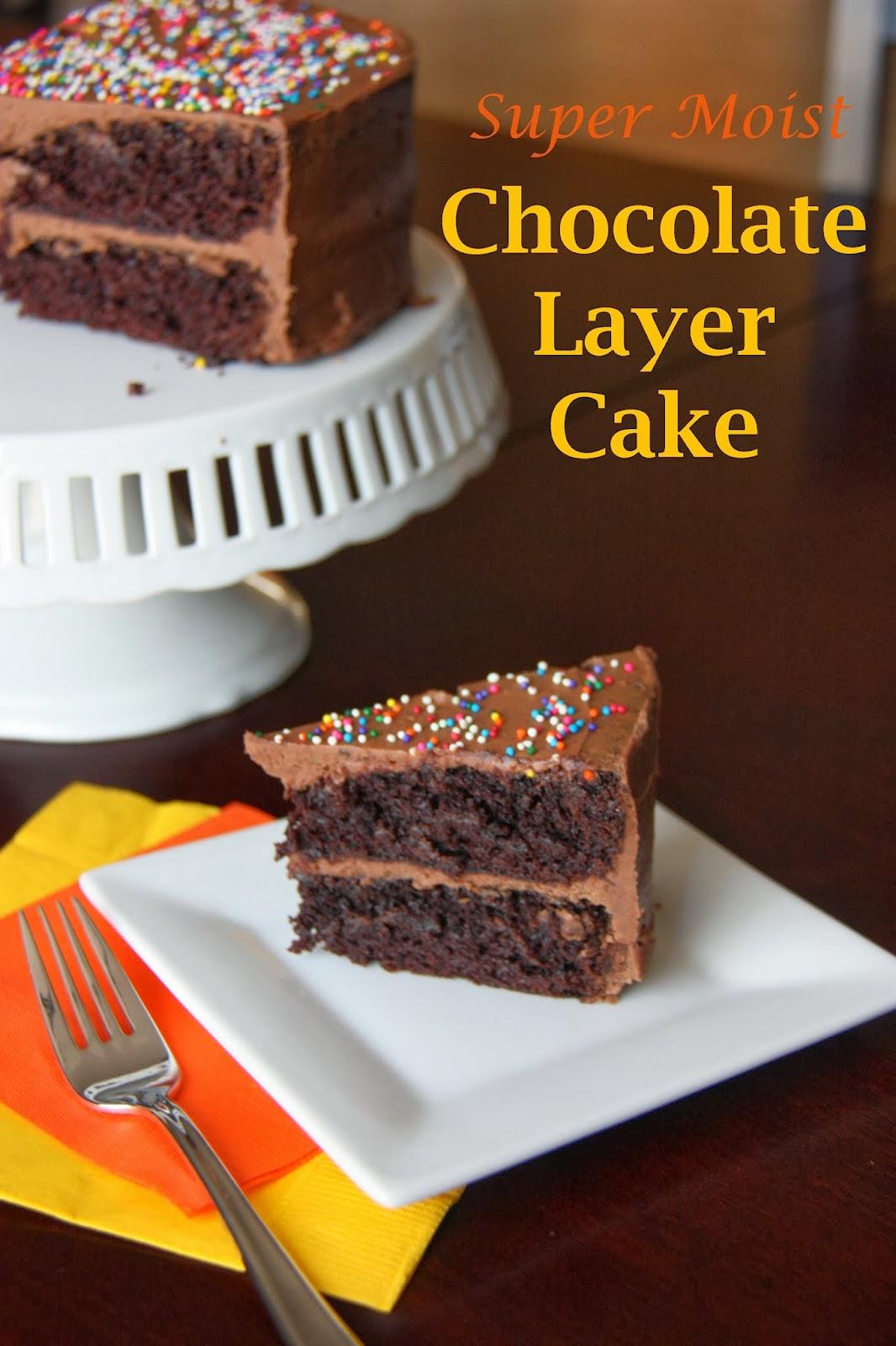 Super Moist Chocolate Cake Recipe With Buttermilk
