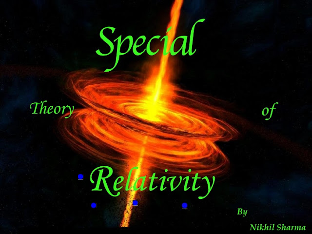 Theory of relativity and special theory