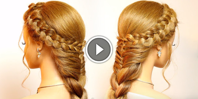 How To Create Dutch Crown Braid Hairstyle