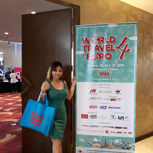September 18, 2019, I attended the media and bloggers conference for World Travel Expo 4 held at the Prime Hotel in Diliman, Quezon City.