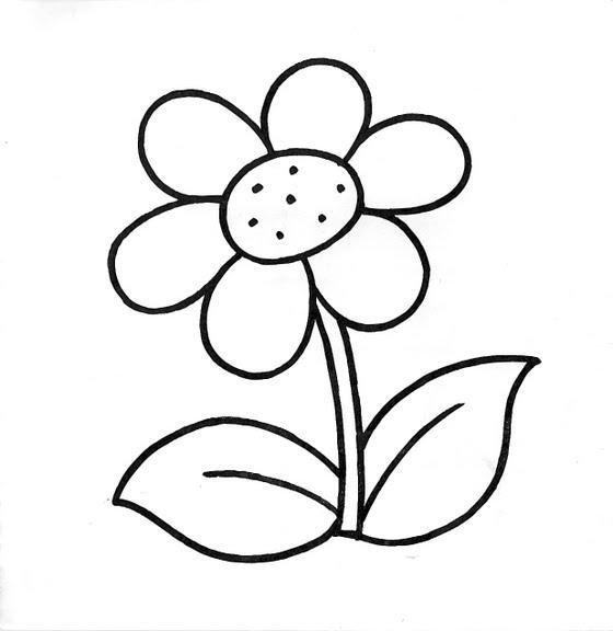 Dibujos Infantiles Dibujo Infantil Flor