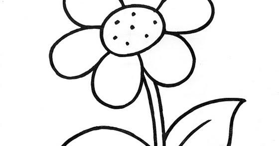Dibujos Para Colorear De Flora: Dibujos Infantiles: Dibujo Infantil Flor