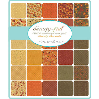Moda Beauty Fall Fabric by Sandy Gervais for Moda Fabrics