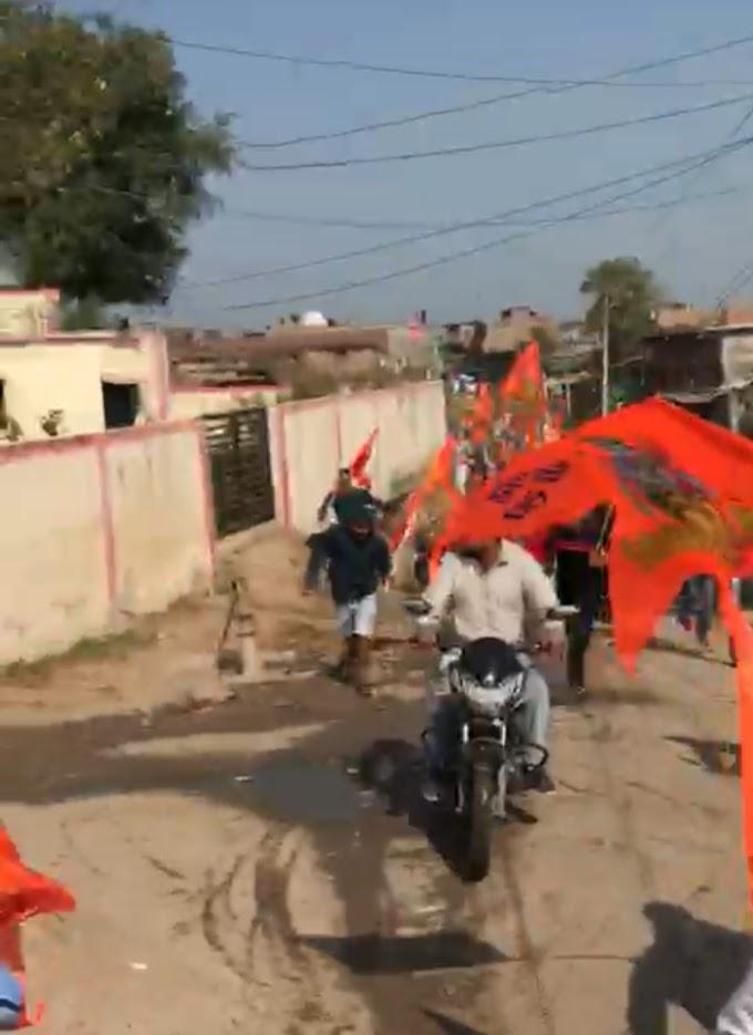 उज्जैन के बाद अब इंदौर में भी हुआ राम मंदिर निर्माण के लिए चंदा एकत्रित करने वाले लोगों पर हुआ हमला कई लोग घायल हुए।