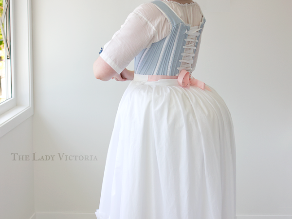 Reproduction: 1780's Petticoats