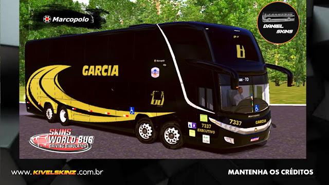 PARADISO G7 1800 DD 8X2 - VIAÇÃO GARCIA 80 ANOS