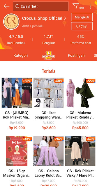 Crocus Shop Shopee Haul Outfit