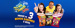 Promoção Vote Ruffles Faça-me um Sabor