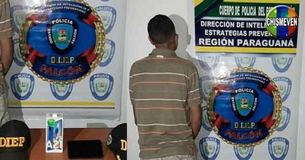 Detenido empleado de almacén por robarse un celular de Daka