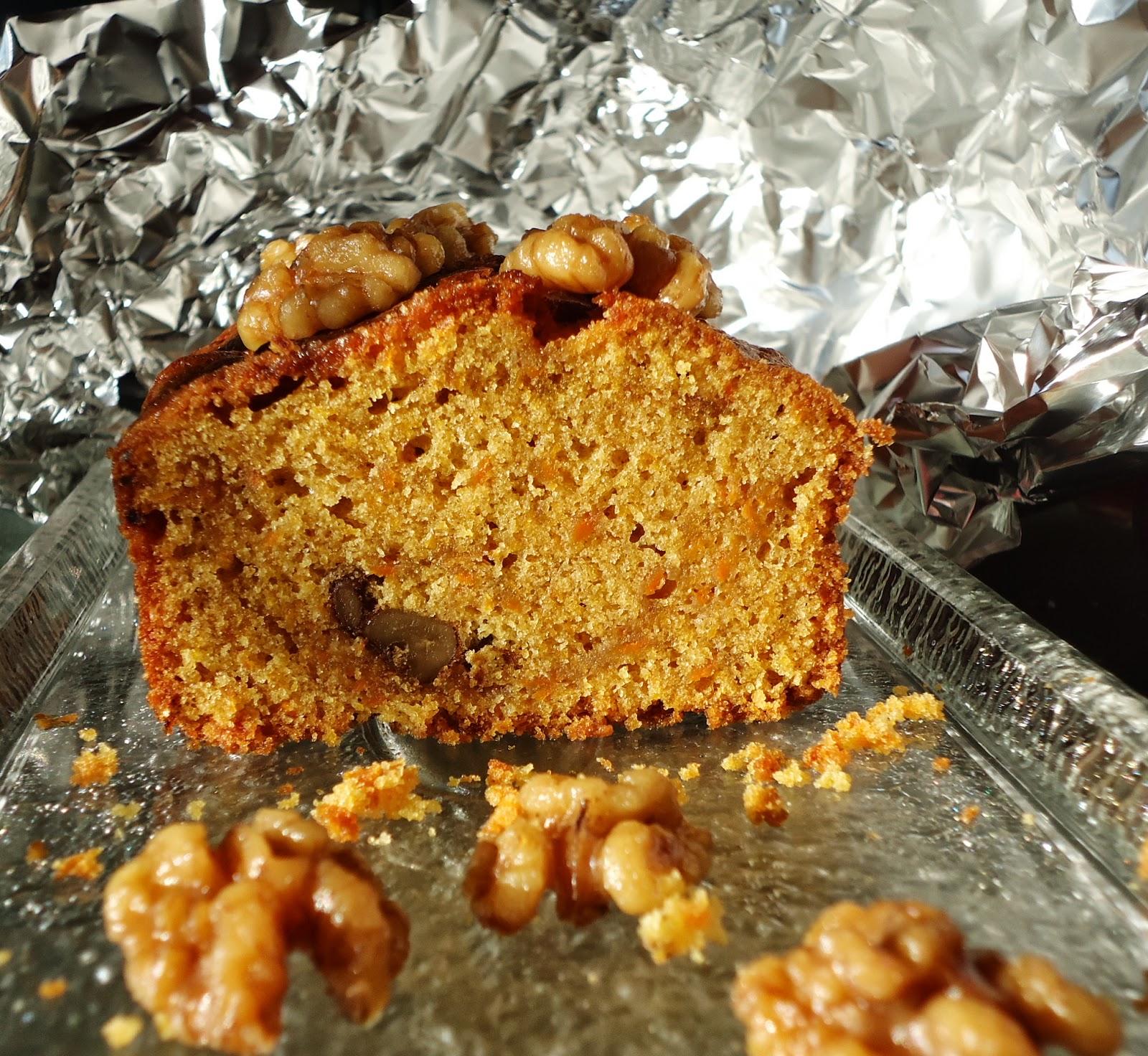 auchwas: Walnuss-Karotten-Kuchen